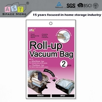 High quality cheap price hand roll vacuum compressed bag