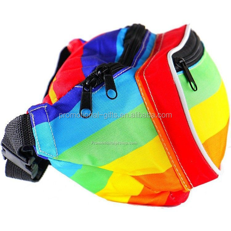 Colorful Waterproof Fanny Pack Sport Waist Bag