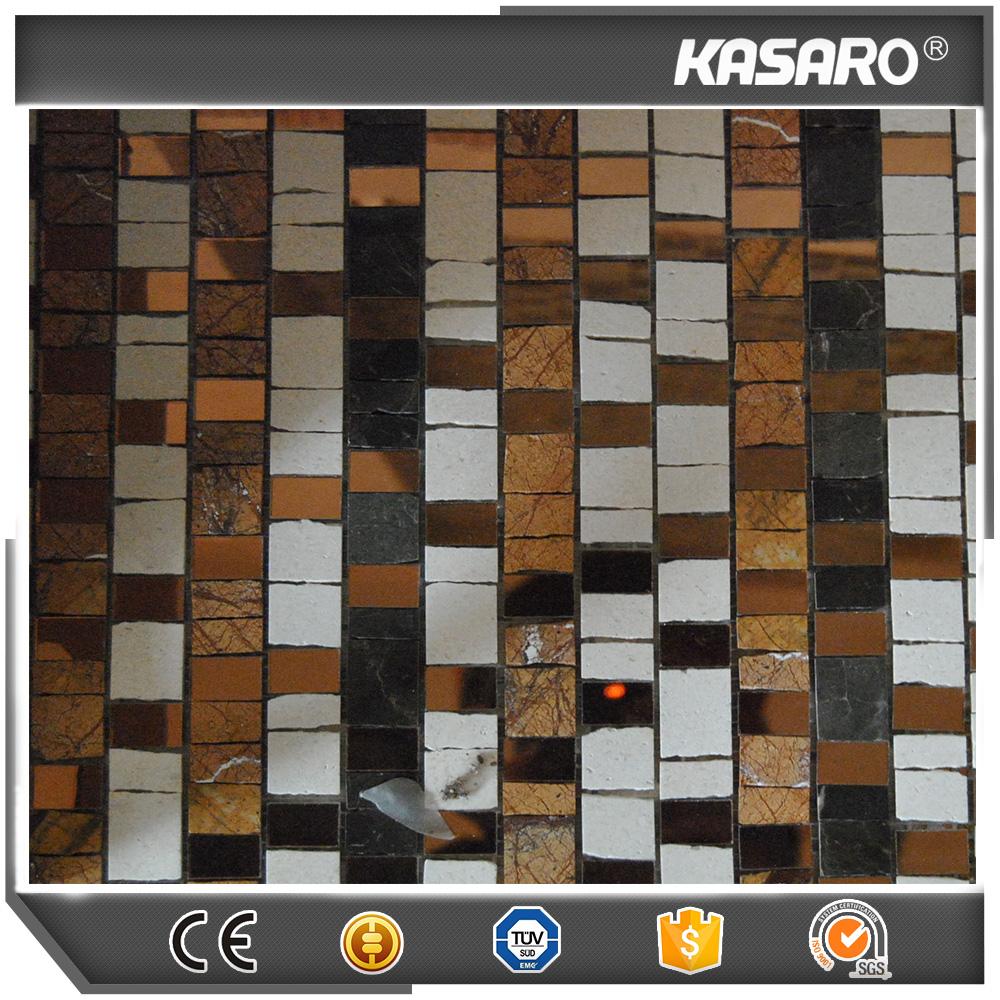 Keuken muur mozaïek tegel, decor mozaïek art, stone mix ...