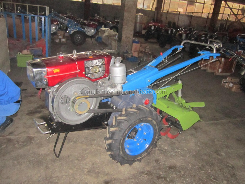12hp Walking Tractor With Diesel Engine For Mauritius Madagascar ...