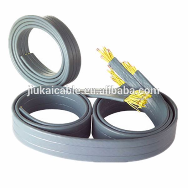 VDE Approved Oil, Cold and Moisture Resistance PVC Insulated PVC Sheathed H05VVH6-F Lift Cable