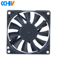 Silent 5v 12v 24v 80x80x15mm 80x80 80x15 8015 server dc axial cooling fan