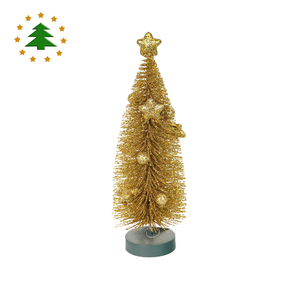 China personalized ornaments white 8 inches metal spiral christmas mini tree