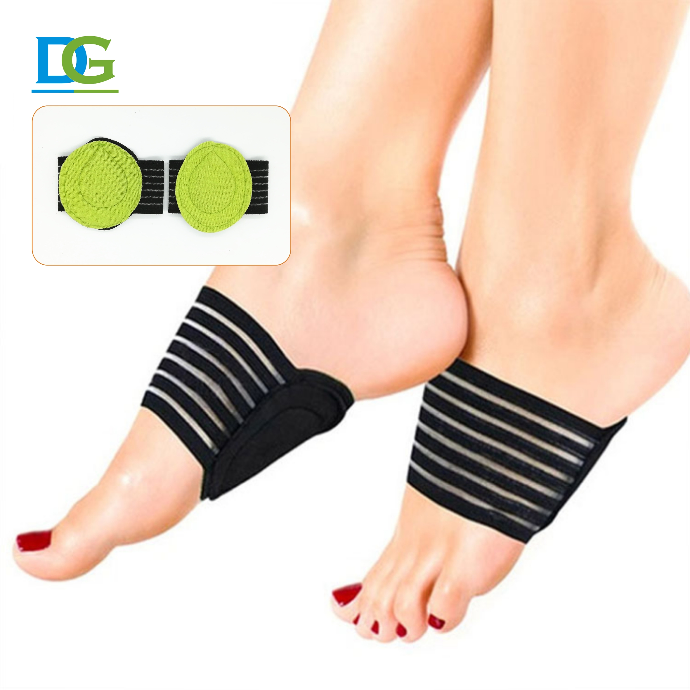 New design cotton arch support for flat feet cushion arch support plantar fasciitis cushion with great price