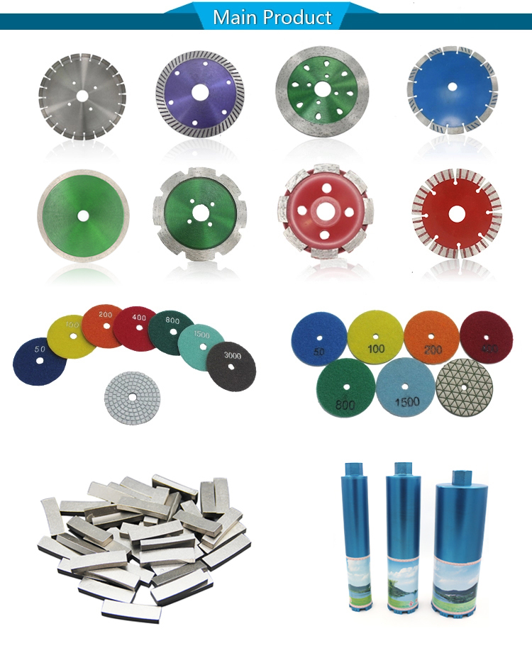 Flexible Diamond Sanding Discs Diamond Resin Floor Pad  For Concrete