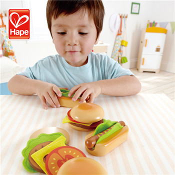 New Products Customized Colorful Wooden Food Toy,Kitchen Toys Set