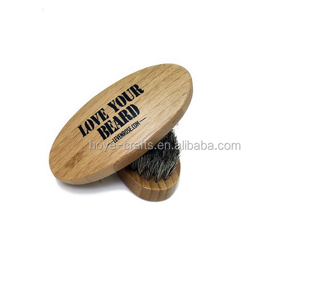 wholesale wooden soft boar bristle beard brush