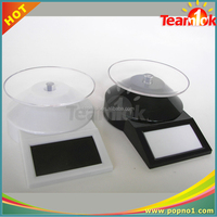 ABS solar power rotating display stand, solar rotating display stand for ipone/ jewelry/watch