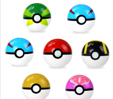 Newest Design kids Toy Ball Plastic Pokemon Balls