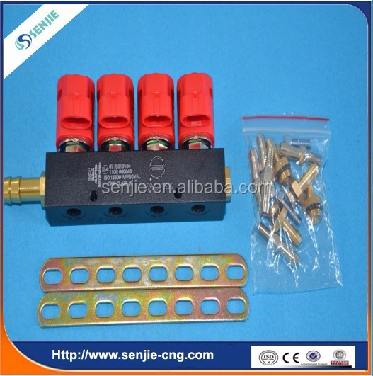 4cyl lpg kit injection rail for single point system