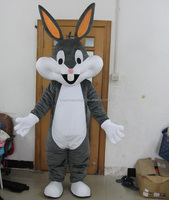 Carnival bugs mascot costume adult bunny costume for party