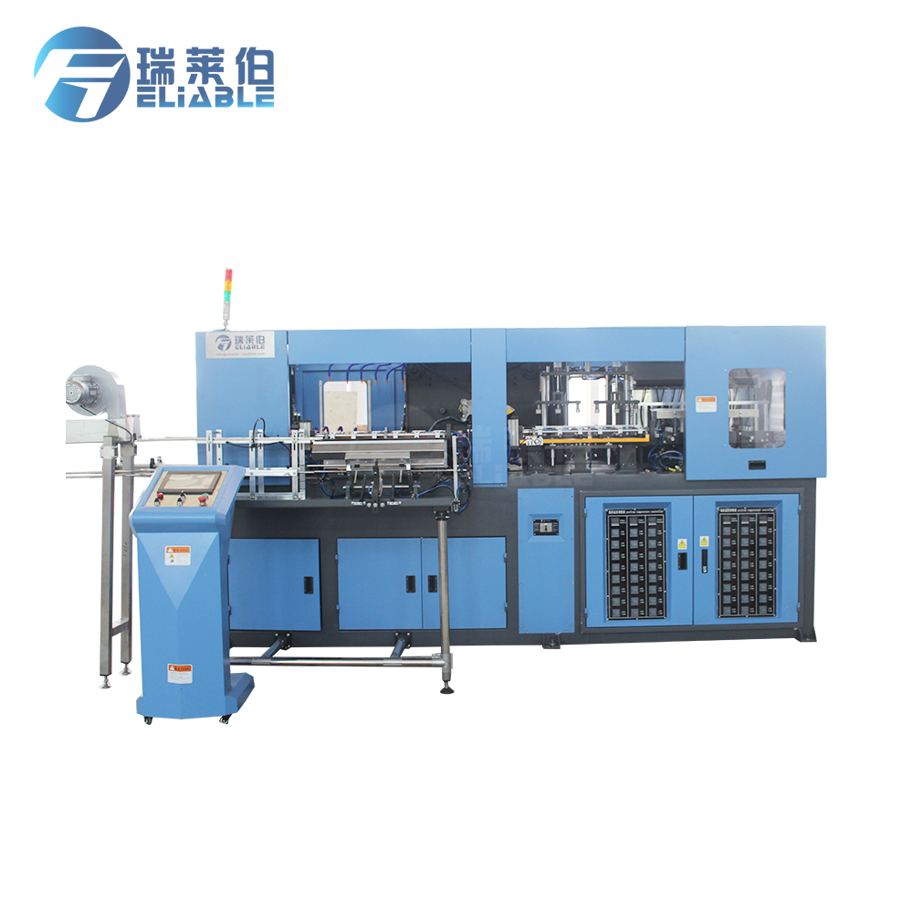 Manual Drive 6 Cavities Automatic Used Pet Pc Bottle Blowing Machine / Bottle Making Machine