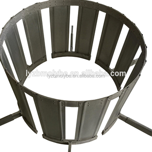 Good quality Tungsten wire mesh heater Tungsten heating element used in sapphire crystal furnace