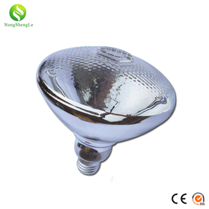Energy efficient bulb waterproof hard glass infrared heating lamp for animals