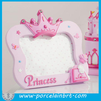 Incredible Pink Birthday Gift Crown Photo Frame For Girl