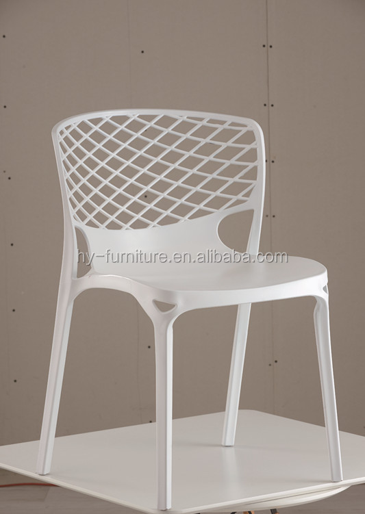Stacking leisure outdoor furniture ,Cheap modern dining room pp chairs,plastic bar chairs HYX-657A