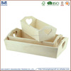 Made in china hot sale wholesale factory price Natural Wood Box Fruit Crate Wooden Vegetable Crates /