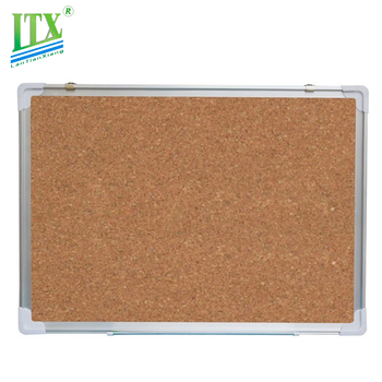Hb High Grade Oak Frame Cork Board For