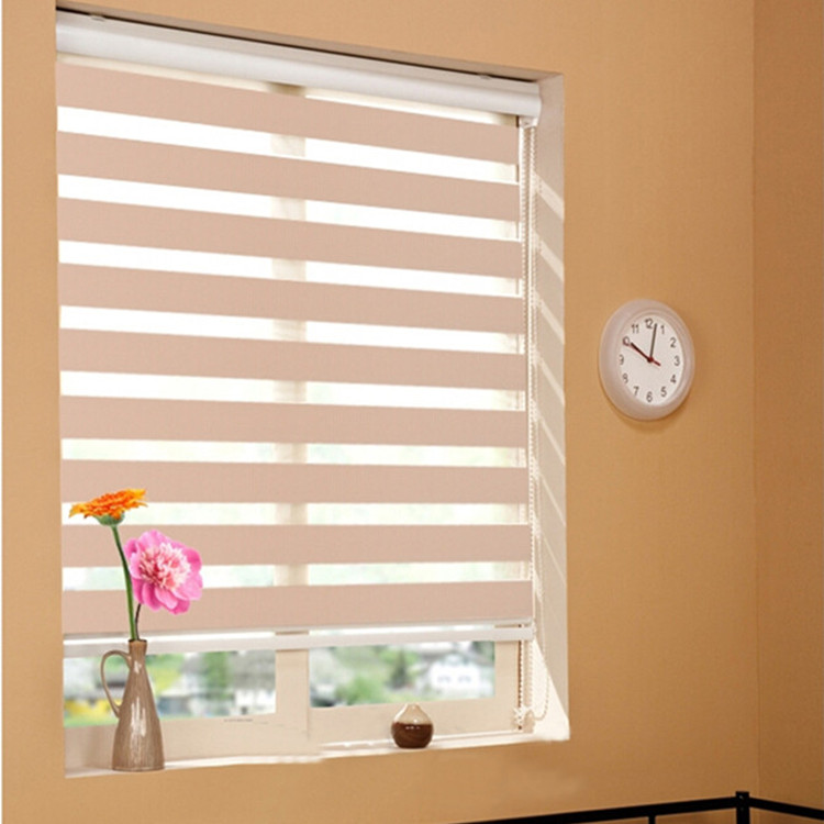 China manufacture double layer combi dual roller blinds