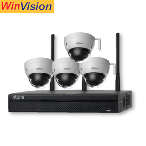 2018 New Dahua 4 channel nvr kit 3mp 1080P Security Outdoor Wireless Surveillance Camera System