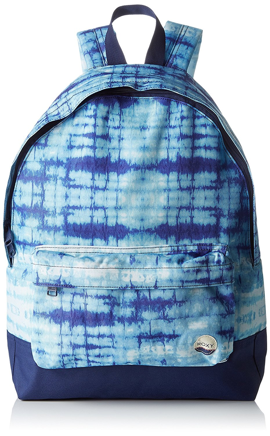 Roxy Marshmallow Antares Tie Dye Sugar Baby Womens Backpack (Default , Blue)