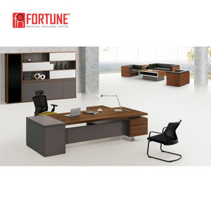 Guangdong furniture elegant design modern office director table(FOH-JC2820)