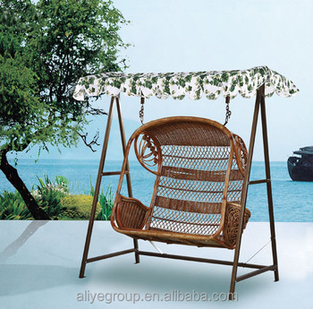 Mid Century Rattan Chair, Patio Rattan Wicker Double Seat Hanging Egg Swing Chair With Metal Stand Buy Garden Swing Chair Out Door Swing Chair Steats Luxury Swing Chair Product On Alibaba Com