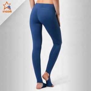 fitness capris spandex cotton woman bulk workout printing activewear yoga pants customized compression tights running leggings