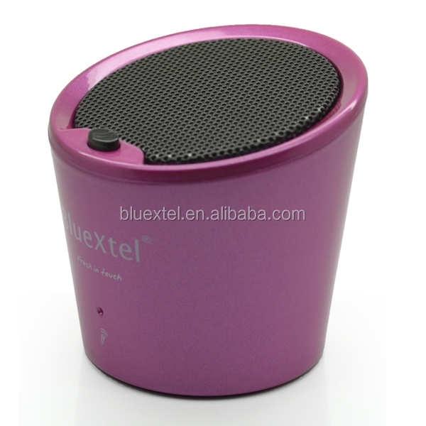 2014 mais novo modelo pato mini coca-cola pode amplifier speaker bluetooth CE FCC RoHS certificados BQB