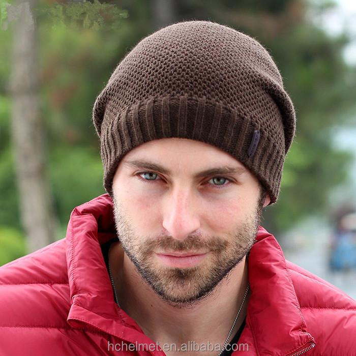 nuevos gorros de invierno de color slido sper gruesos calcetines de lana  caliente sombrero unisex 2d7b0e246ff