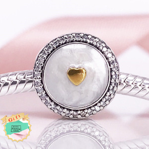 925 Sterling Silver Beads Pendants Jewelry And Charms Diy Limited Edition Precious Heart Charms Factory Wholesale