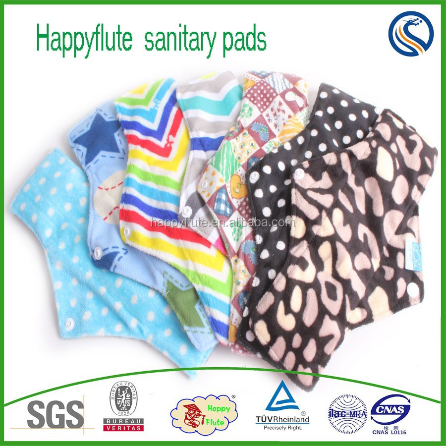 lady period pads sanitary washable cloth napkins menstrual pads reusab period pads