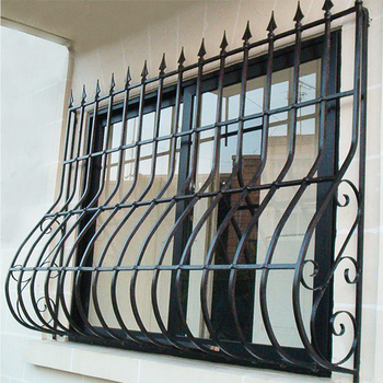 Wrought Iron Window Grills Grill Design 10