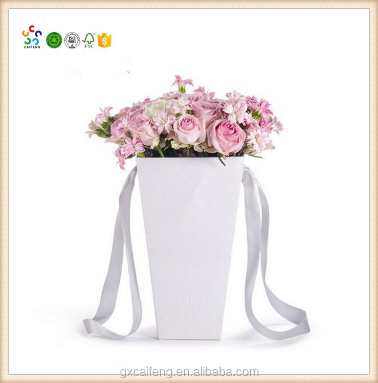 New design paperboard flower shipping boxes