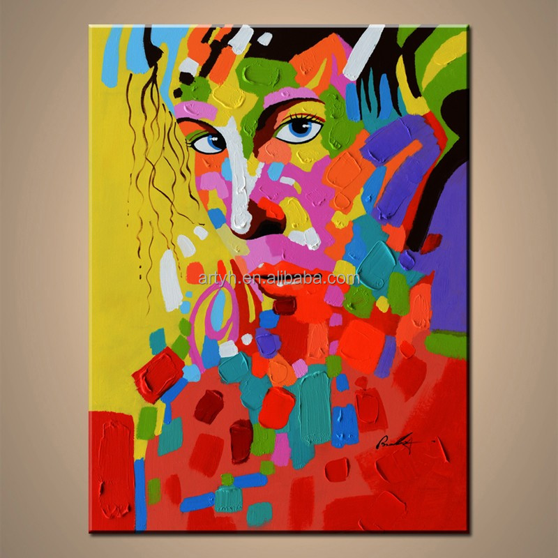 Super Grossiste peinture visage abstrait-Acheter les meilleurs peinture  HK18