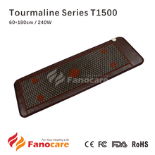 Tourmaline Series T1500 Fanocare far infrared ray heated therapy thermal massage heating korea jade tourmaline ceramic mattress