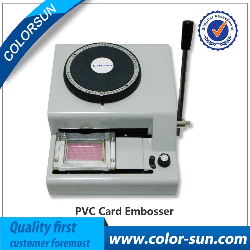Credit Card Embosser And Printer Machine, Credit Card Embosser And ...