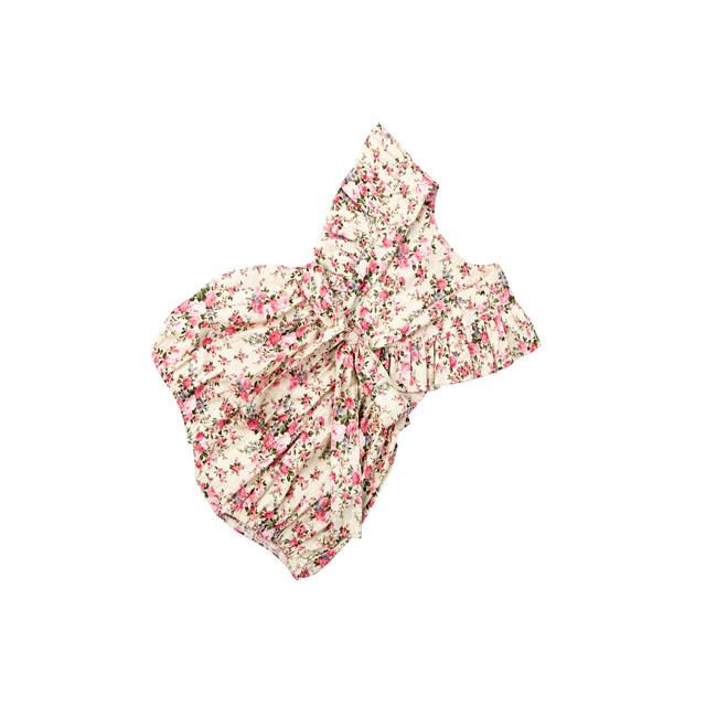 2018 Wholesale fashion style big bow knot delicate embroidered baby clothes newborn backless rompers
