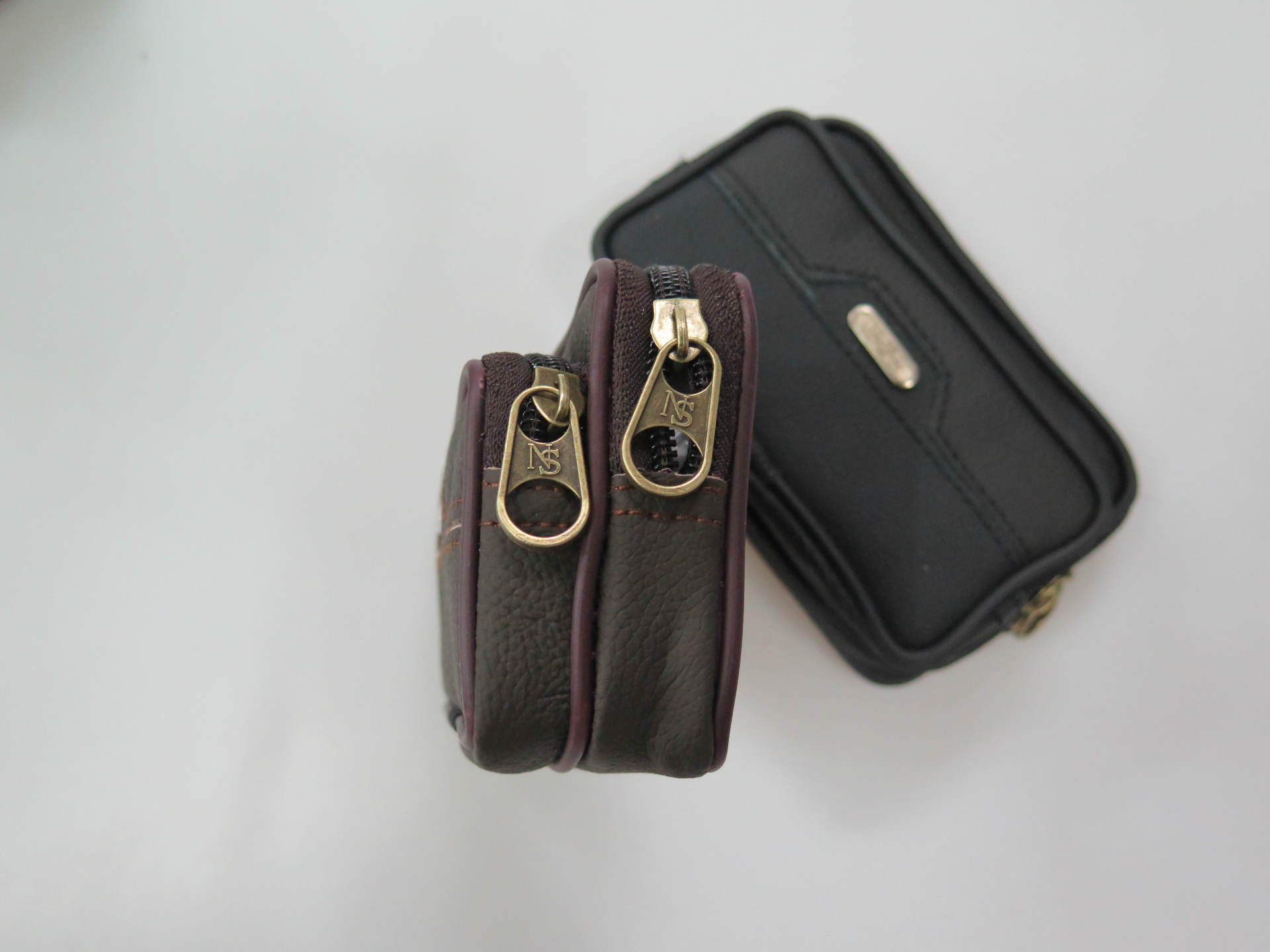 PU Leather Cell Phone Bag Belt Clip Pouch Waist Purse for Men