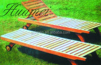 Factory supply elegant and popular adjustable Wooden beach chair