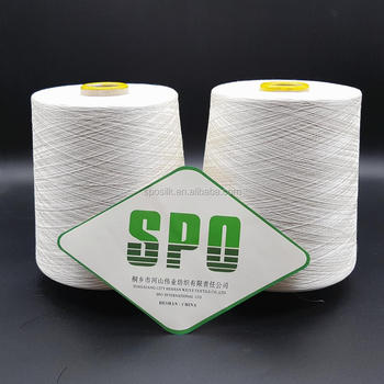 SPO silk blended yarn of silk/cotton for silk cotton sarees from China factory
