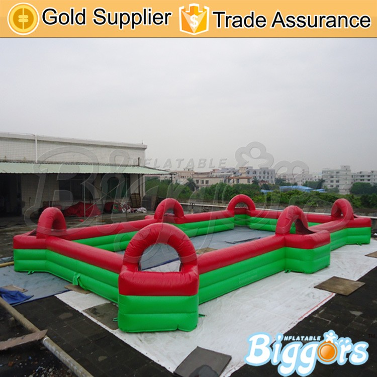 Inflatable Soapy Stadium Soccer Football Field for Sale