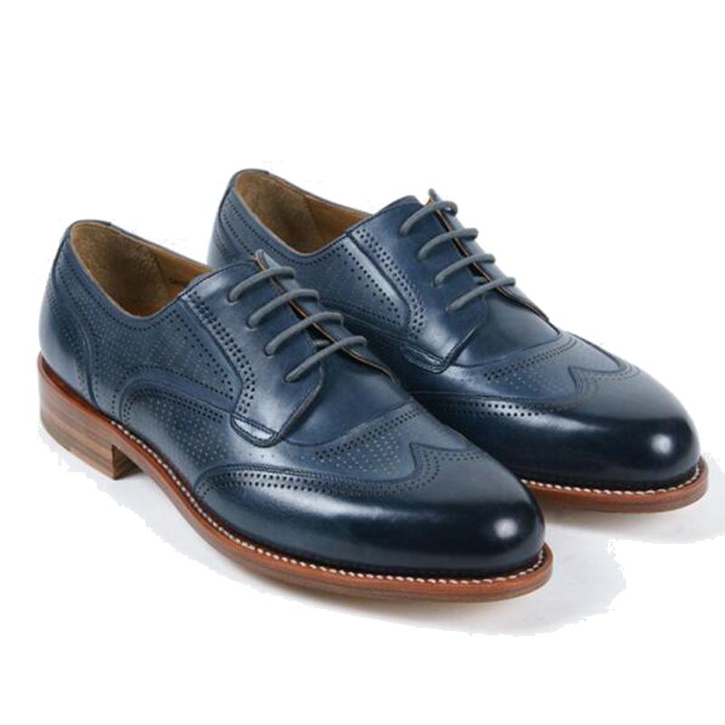 Venta Al Por Mayor Color De Zapatos Para Vestido Azul Marino