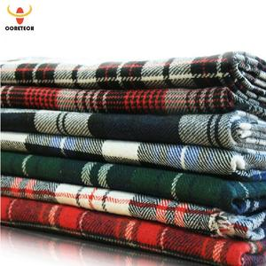 african 100 cotton yarn dyed woven fabric