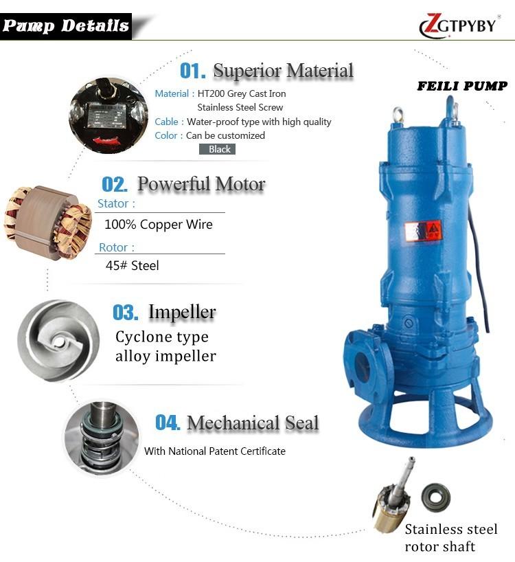 Macerator Pumps Sewage Lift Station Pumps 2 Hp Sewage