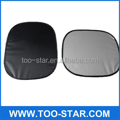 siliver tape custom car side window sun shade