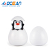 Bath water spray duck penguin toys baby floating plastic egg toy for water playing