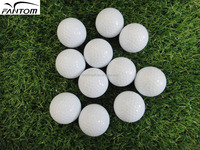 3 Pieces Golf Ball Surlyn, Premium Golf Ball White by Fantom---338 Seamless Dimples