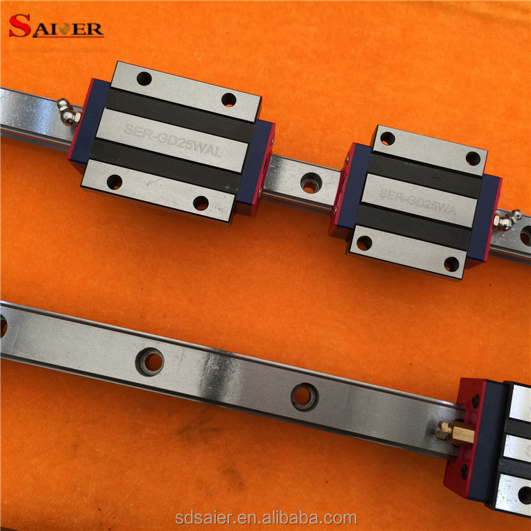 Made in China manufacturer-25mm cross linear guide rail with high precision
