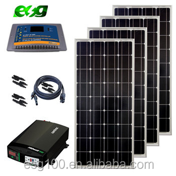 Solar Panel System 12V 24V Mono and <strong>Poly</strong> 5W 20w 30w 40w 50w 100w 150w 200w 250w 260W 300w 320w solar panel